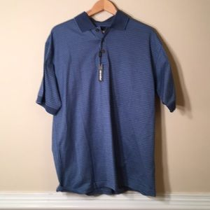 NWT Bolle Golf Shirt Medium 🏌️ 100% Cotton